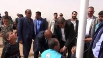 SAVUNMA HAKKI - Suriye Sınırına 6 Metrelik Türk Bayrağı