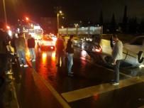 DEĞIRMENDERE - Takla Atan Otomobilden Burnu Bile Kanamadan Çıktı