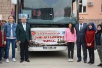 ADNAN TEZCAN - Tokat'ta Öğrenciler Çanakkale Ve Afrin Ruhu İçin Yollarda