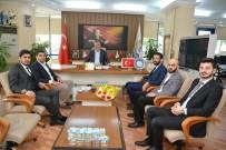 HAKAN KILIÇ - TÜGVA'dan Başkan Özkan'a Ziyaret