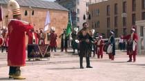 AHİ EVRAN KÜLLİYESİ - Zeytin Dalı Harekatı'na Mehterli Klip Desteği
