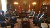 AHMET ÖZEN - Ziraat Odası Başkanları 'Tütün' İle İlgili Görüşmeler Yaptı
