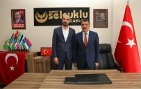 AYETULLAH - Başkan Gürkan'dan Anadolu Selçuklu Ocakları'na Ziyaret