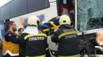 Bingöl'de 2 Otobüs Çarpıştı Açıklaması 7 Yaralı