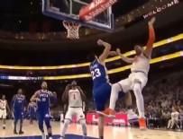 NBA - Ersan İlyasova, FETÖ'cü Enes Kanter'i yere serdi