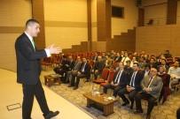 PIYASALAR - Gaziantep'te Sanayici Ve İşadamlarına Piyasalar Ve Ekonomi Anlatıldı