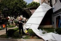 ŞİDDETLİ FIRTINA - Hatay'da Fırtına Hayatı Felç Etti