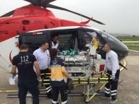 KALP HASTASI - Kalp Hastası Bebek Hava Ambulansı İle Manisa'ya Sevk Edildi