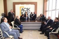 HACI İBRAHİM TÜRKOĞLU - Karaman'da 'Açık Kapı' Projesi Uygulamaya Başladı