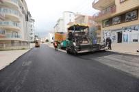 ESKIHISAR - Manavgat'ta Asfalt Çalışmaları Devam Ediyor