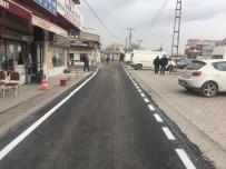 KAMYONCU - Nakliyeciler Sitesinde Yol Düzenleme Ve Asfalt Çalışmaları Başladı