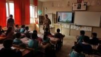 OKUL SERVİSİ - Pasinler'de Öğrencilere Trafik Eğitim Semineri Verildi