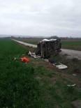 NEDIM TUNCER - Polatlı'da İşçi Servisi Kazası Açıklaması 1 Ölü, 21 Yaralı