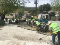 AHMET ATEŞ - Söke Karacahayıt'ta Parke Kaplama Çalışmaları Başladı