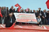 DAVUTPAŞA - Abusultan Baggara Aşiretinden Mehmetçik'e Destek Konvoyu