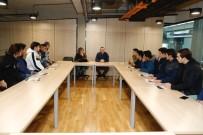 AHMET EREN - AGÜ İnşaat Mühendisliği'nden Lise Öğrencilerine Uygulamalı Eğitim