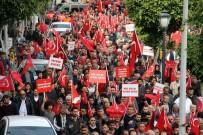 ADEM MURAT YÜCEL - Alanya'da Binlerce Kişi Afrin'e Destek İçin Yürüdü