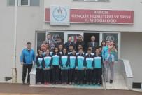 BUZ PATENİ - Başarılı Sporcular Uşak'a Uğurlandı