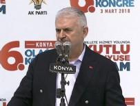 İL KONGRESİ - Başbakan Yıldırım: Bugün Afrin yarın bir başka yer