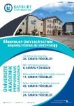 BAYBURT ÜNİVERSİTESİ - Bayburt Üniversitesi'nin Başarılı Yükselişi Sürüyor