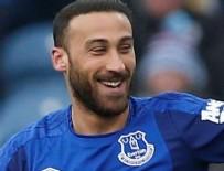 CENK TOSUN - Cenk Tosun'un Everton formasıyla ilk golü