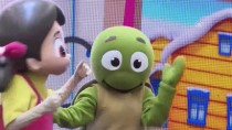KAYNAK HOLDİNG - Çizgi Film Kahramanı 'Niloya' Doğum Gününü Çocuklarla Kutladı