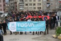 Devrekli Gençlerden Afrin'e Destek Yürüyüşü