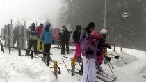 BATı KARADENIZ - Ilgaz Dağı Kayak Merkezi'nde Yoğunluk