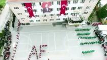 YILDIZ ANADOLU - Lise Öğrencilerinden 'Zeytin Dalı' Koreografisi