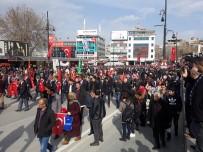 SERVİSÇİLER ODASI - Malatya'da Mehmetçiğe Destek Yürüyüşü