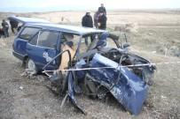 HASTA ZİYARETİ - Malazgirt'te Feci Kaza Açıklaması 2 Ölü, 6 Yaralı