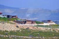 ASKERİ ARAÇ - Raco Dağı'nın Etekleri Yoğun Bombardımana Tutuldu