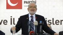 TEMEL KARAMOLLAOĞLU - Saadet Partisi İl Başkanları Ve Müfettişleri Toplantısı