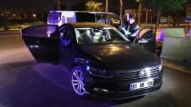 Silahla Vurulan Sürücü 1 Kilometre Gidip Polise Sığındı