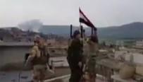 Afrin Operasyonu - TSK ve ÖSO Racu'ya girdi, rejim bayrağını indirdi