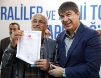 ŞEHİR PLANCILARI ODASI - Türel, Duraliler Ve Avni Tolunay'da 281 Hak Sahibine Tapu Dağıttı