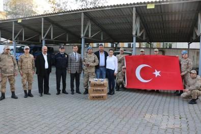 Afrin'deki Mehmetçiğe 300 Powerbank