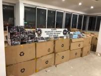 CIKCILLI - Alanya'da 67 Bin Adet Gümrük Kaçağı Gözlük Ele Geçirildi