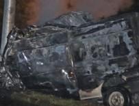Korkunç kaza: 17 ölü, 36 yaralı