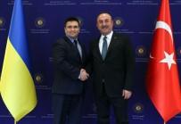 SERBEST TICARET ANLAŞMASı - Bakan Çavuşoğlu Açıklaması 'FETÖ'yle Mücadele Konusunda Ukrayna'dan Heyet Gelecek'
