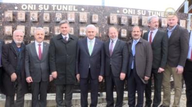 Başbakan Yıldırım, Umut Tüneli'ni Ziyaret Etti