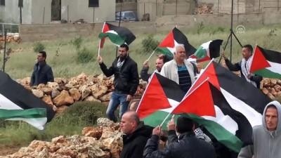 Batı Şeria'daki Filistin Toprak Günü Gösterilerine Müdahale