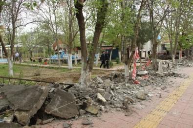 Bismil'in En Büyük Parkı İçin İlk Kazma Vuruldu