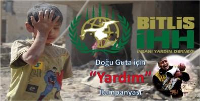 Bitlis İHH'dan 'Doğu Guta' İçin Yardım Kampanyası