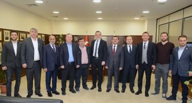 Burkay, Turizmde Birlik Platformu Üyelerini Ağırladı