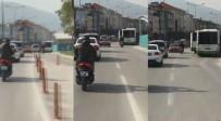 HAŞIM İŞCAN - Bursa'da Hayrete Düşüren Görüntü