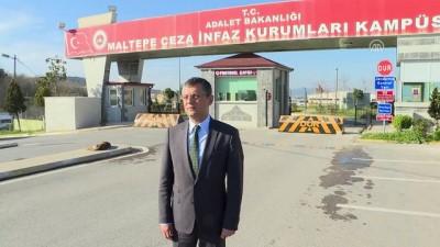 CHP Grup Başkan Vekili Özel, Berberoğlu'nu Ziyaret Etti