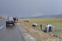 Eleşkirt'te Trafik Kazası Açıklaması 7 Yaralı