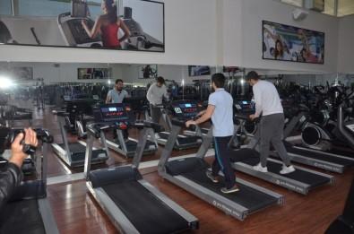 Ereğli'de Kültür Merkezi Spor Salonu Yenilendi