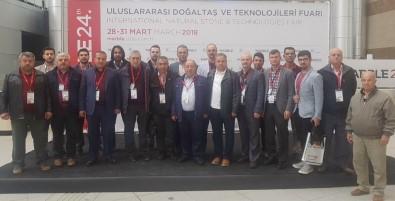 Eskişehirli Mermerciler İzmir'de Fuara Katıldı